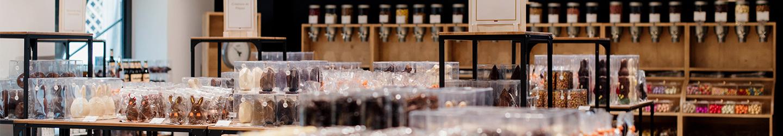 Les Secrets du Chocolat - Zwischenstopp im Museumsshop