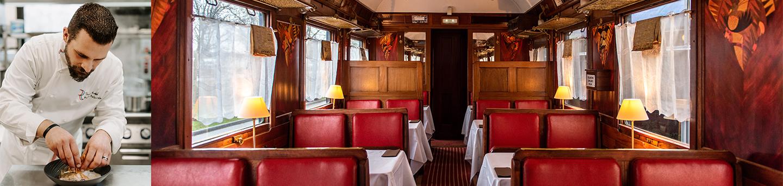 """Déjeuner ou dîner au restaurant  """"Les Secrets de l'Orient Express"""""""